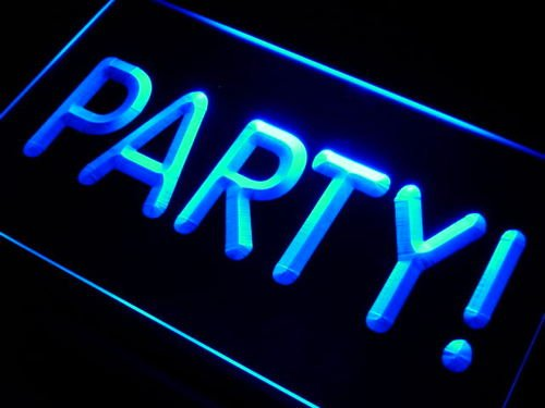Party Time Bar Decor Neon Light Sign