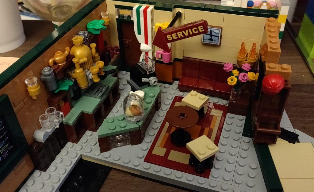 프렌즈 센트럴퍼크 후기 커피머신1 레고 프렌즈 센트럴파크 후기