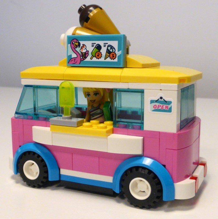 프렌즈 워터파크 아이스크림차 레고 프렌즈 워터파크 후기 , 건축과 출신이 본 레고 ㅋㅋㅋ