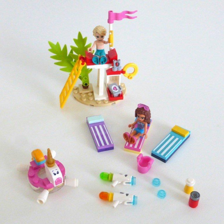 프렌즈 워터파크 안전 선베드 유니콘 레고 프렌즈 워터파크 후기 , 건축과 출신이 본 레고 ㅋㅋㅋ