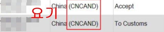 cncand 뭘까 cncand 발송준비 발송중 의미