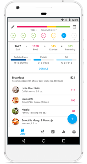 yazio calorie counter android app en 걷기 운동 효과 5가지 : 걸으면 칼로리 얼마나 태울수 있을까?