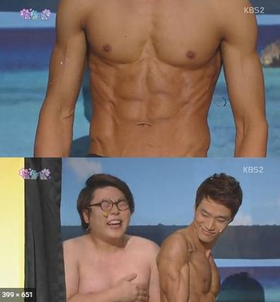 김기리 남자가슴모양 , 나도 외국모델처럼 만들 수 있을까?